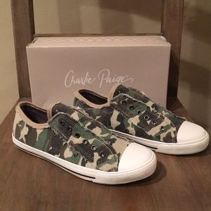 Charlie Paige Camo Shoes